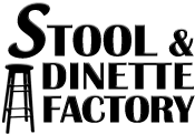 Stool and Dinette<br>Paradise Plaza Logo